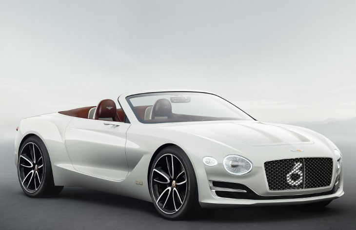 Концепт-кар Bentley EXP 12 Speed 6e