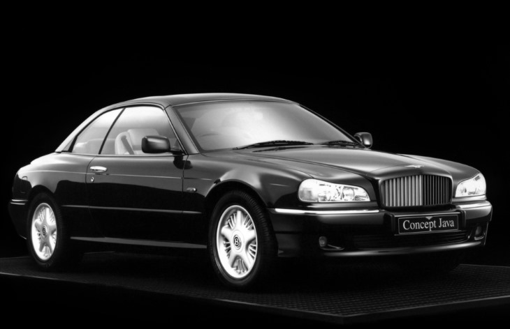 Концепт-кар Bentley Java, 1994