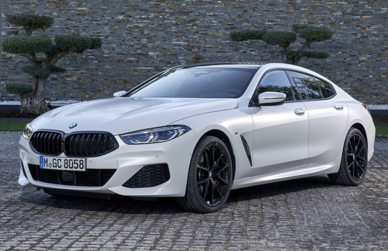 Седан BMW 8 Gran Coupe