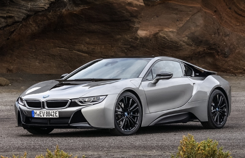 BMW i8 — цена, фото, характеристики