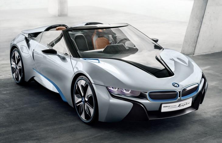 BMW i8 Spyder 2019 - фото, характеристика, цена