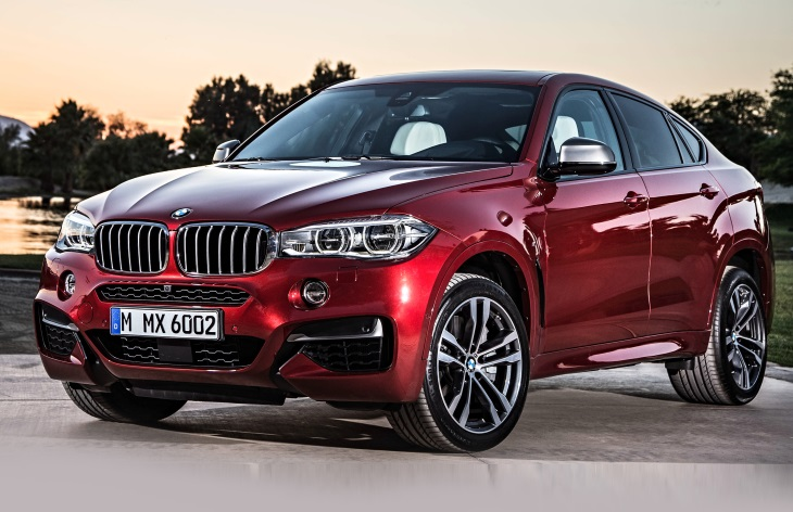BMW X6 - цена, характеристики, фото