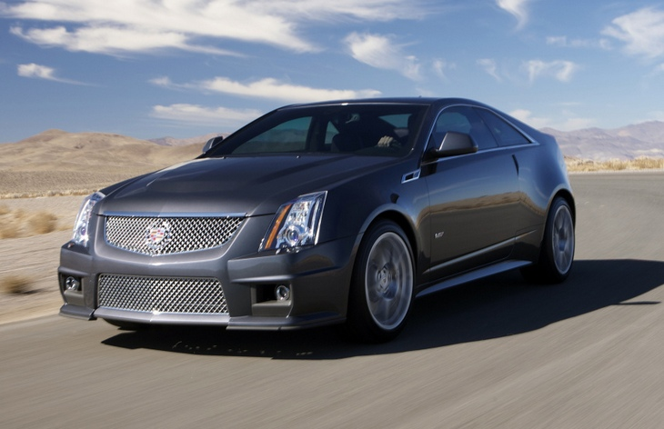 Купе Cadillac CTS Coupe
