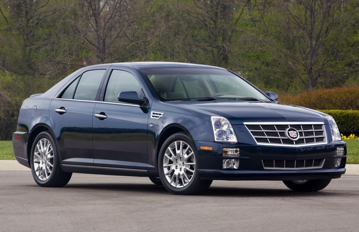 Седан Cadillac STS, 2005–2011