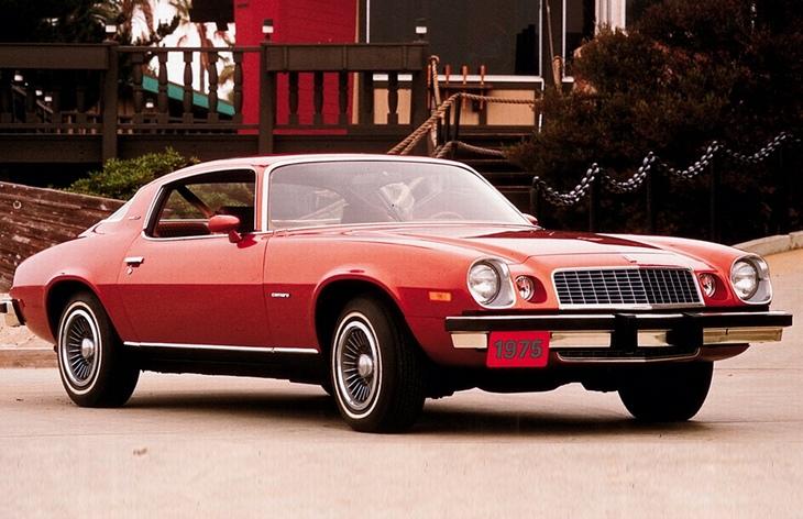Купе Chevrolet Camaro, 1974