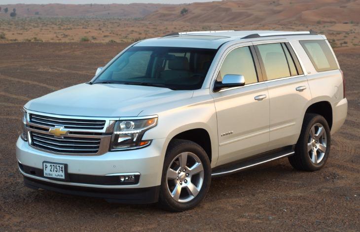 Chevrolet Tahoe четвертого поколения