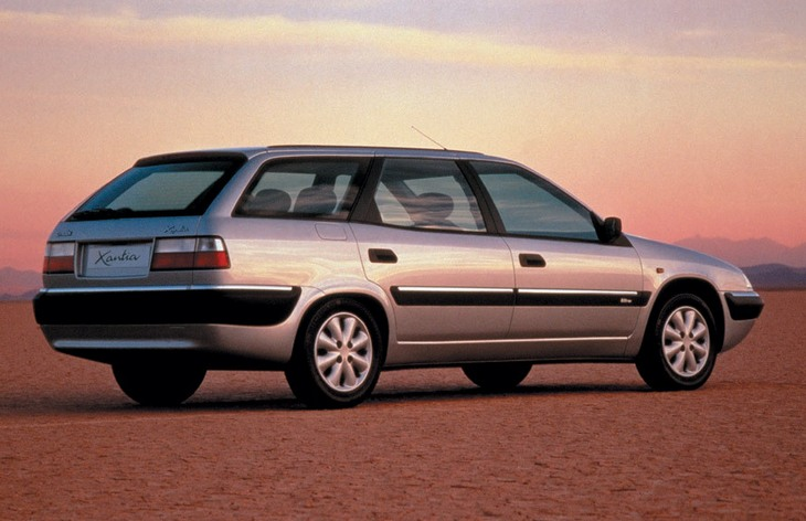 Универсал Citroen Xantia Break после рестайлинга, 1996–2001