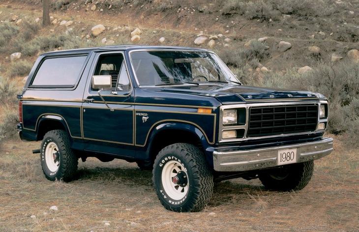 Форд Бронко — история модели, фото, цены
