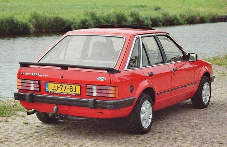 ford escort 1 поколения