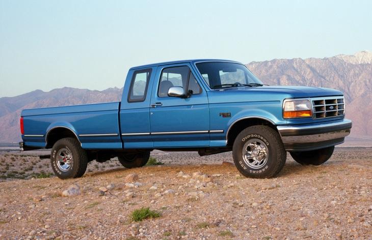 Форд пикапы модельный ряд ф 150