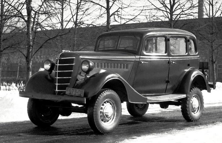 Автомобиль газ 61 73 1941–1945