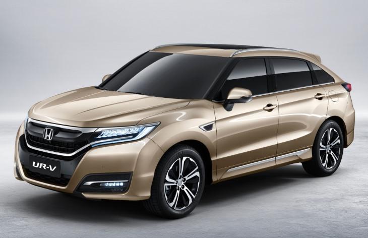 Honda UR-V — фото, характеристики, цены