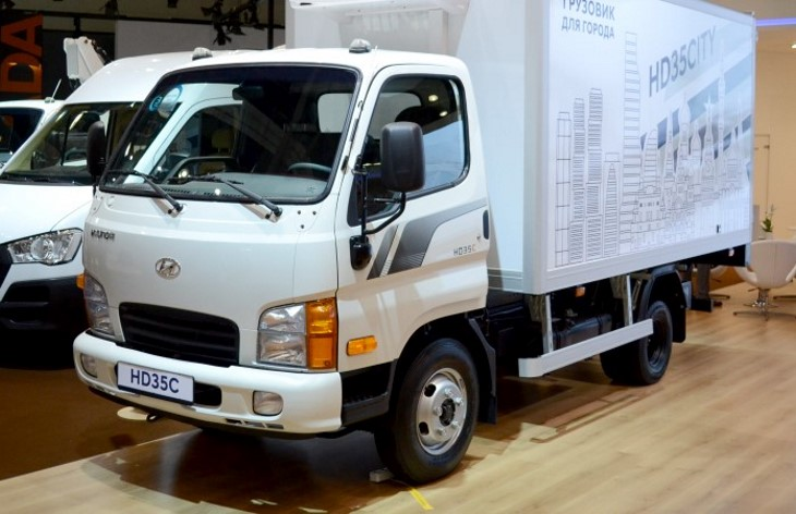 Грузовик Hyundai HD35 City