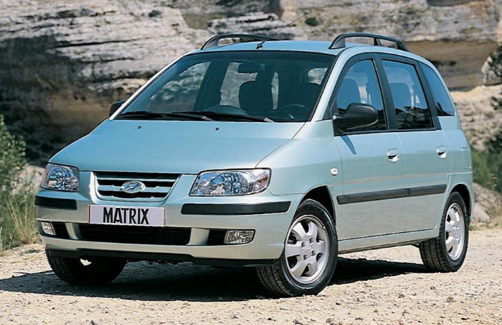 Компактвэн Hyundai Matrix (2001–2008)