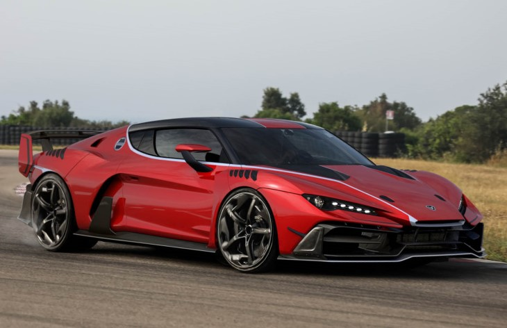 Купе Italdesign Zerouno