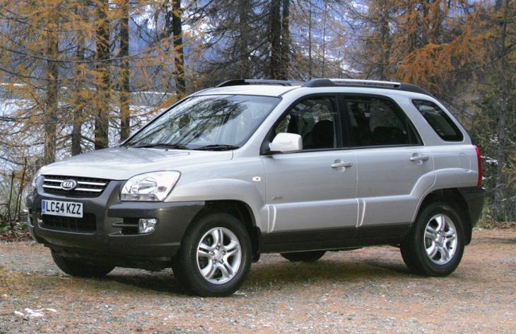 Внедорожник Kia Sportage второго поколения (2004-2008)