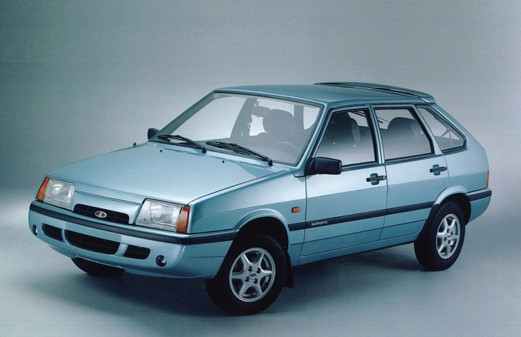 Хэтчбек Lada Samara Baltic GL, 1986–1993