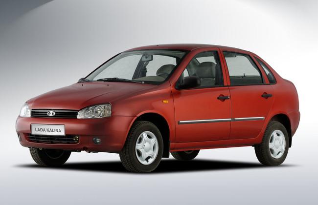 Седан Лада Калина первого поколения (ВАЗ-1118), 2004–2011