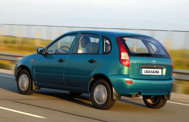 Хэтчбек Лада Калина первого поколения (ВАЗ-1117), 2006–2020
