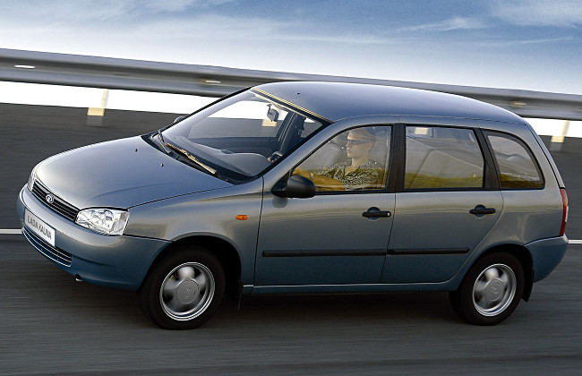 Универсал Лада Калина первого поколения (ВАЗ-1119), 2006–2020