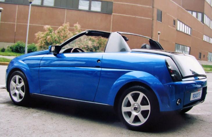 Lada Roadster – оригинальная разработка «АвтоВАЗА» начала 2000-х