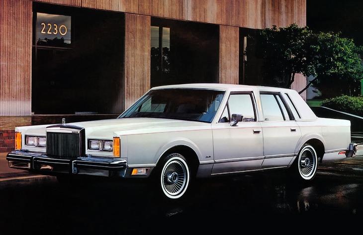 Lincoln town car схема