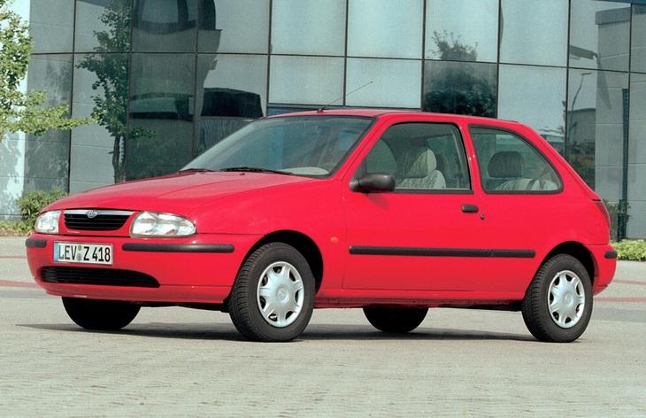 mazda 121 1991-1996 обзор отзывы