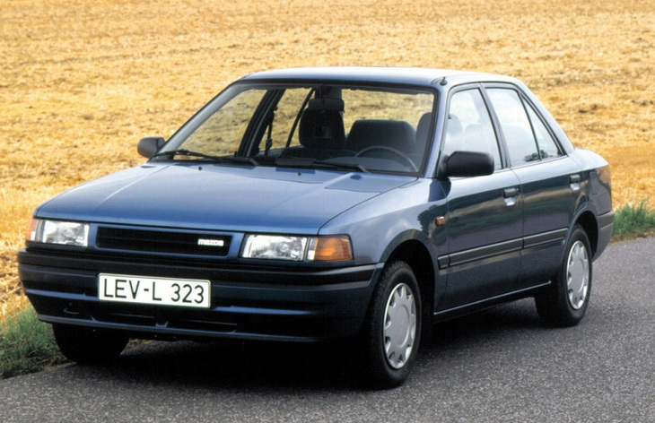 mazda 323 1.7 diesel 1986 года хэтчбек пятидверный характеристика