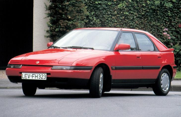модельный ряд mazda famili 1994-1998