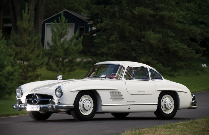 Купе Mercedes-Benz 300SL, 1954–1963