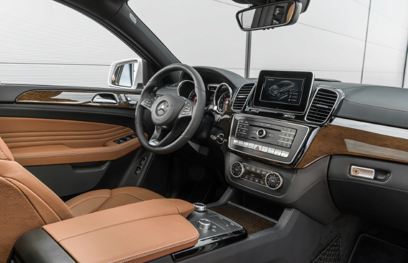 Кроссовер Mercedes-Benz GLE Coupe