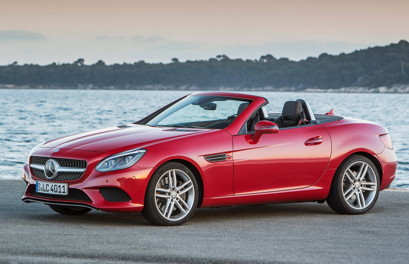 Родстер Mercedes-Benz SLC