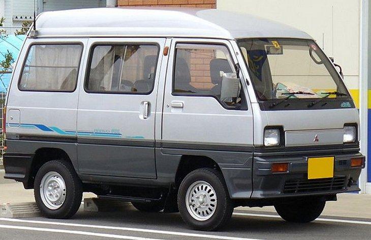 микроавтобус митсубиси