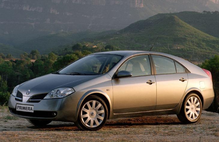 Хэтчбек Nissan Primera третьего поколения, 2002–2008