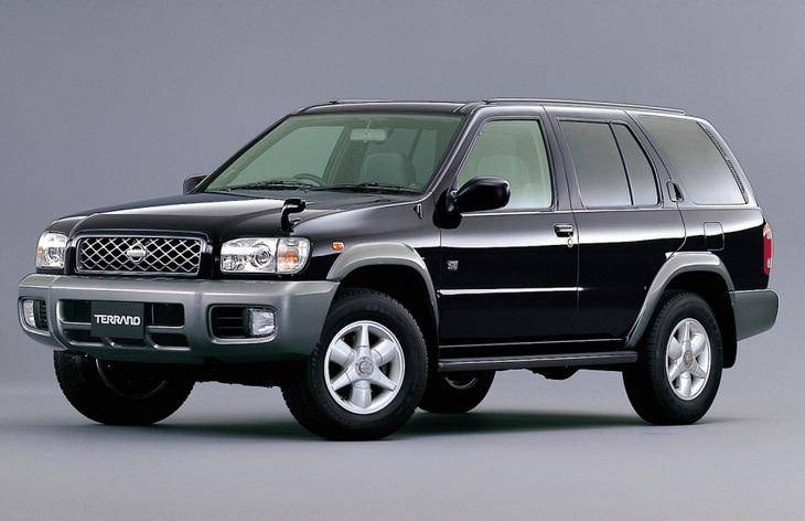 Внедорожник Nissan Terrano второго поколения, 1996–2004