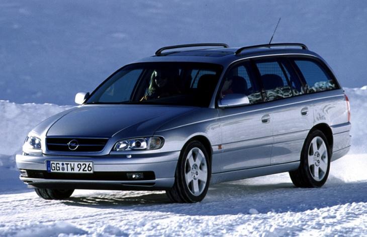 Фото Универсал Opel Omega второго поколения после рестайлинга (1999