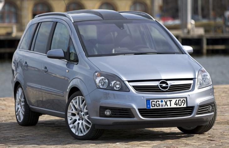 360-обзор Opel Zafira B.