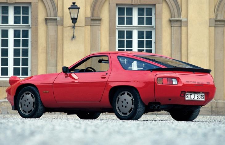 движок porsche 928, 1983 год