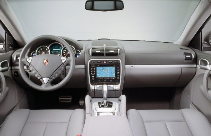 porsche cayenne turbo 1 поколение