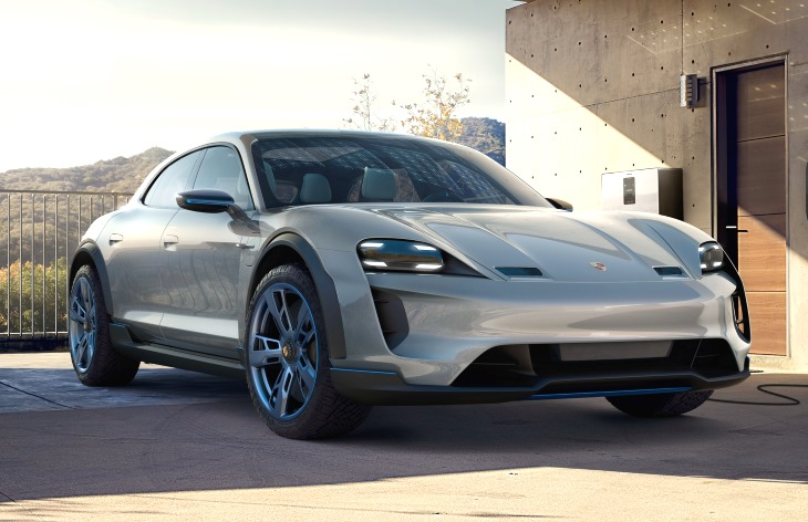 Концепт-кар Porsche Mission E Cross Turismo