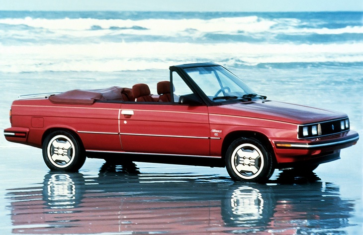 Кабриолет Renault Alliance Convertible, 1985–1987
