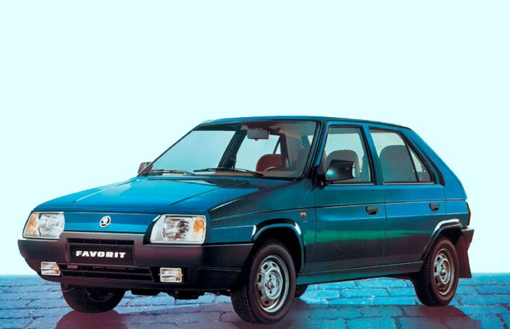 Хэтчбек Skoda Favorit, 1987–1995