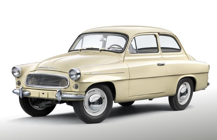 Седан Skoda Octavia первого поколения, 1959–1964
