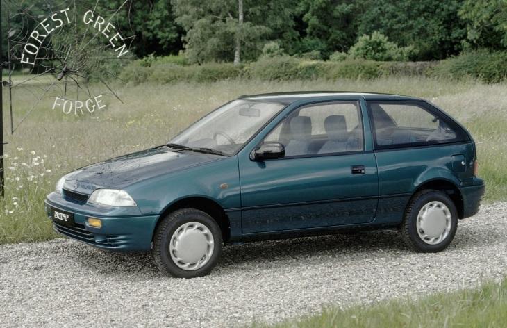 Трехдверный хэтчбек Suzuki Swift второго поколения (1989-2003)