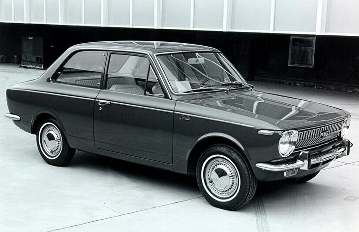 Седан Toyota Corolla первого поколения, 1966–1970