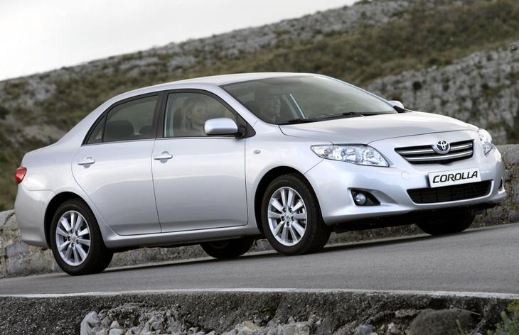 Седан Toyota Corolla десятого поколения (европейская версия), 2006–2013
