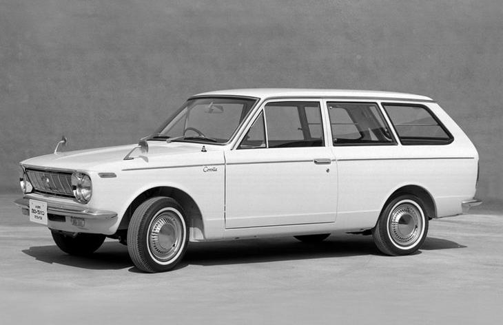 Универсал Toyota Corolla первого поколения, 1967–1970