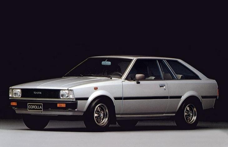 Трехдверный хэтчбек Toyota Corolla четвертого поколения, 1979-1984