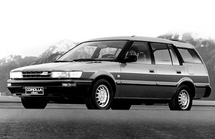 Универсал Toyota Corolla Wagon 4WD шестого поколения, 1987–1992