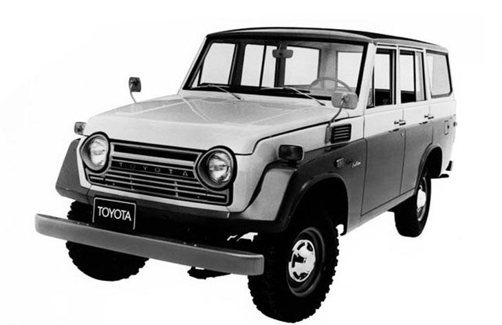 Toyota Land Cruiser четвертого поколения, 1967-1979